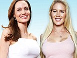 Something in common: Both Angelina Jolie and reality star Heidi Montag both enlisted the services of Beverly Hills plastic surgeon and breast reconstruction specialist Dr. Jay Orringer this year