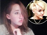 Creating a buzz! Miley Cyrus's 13-year-old sister Noah follows in her famous sibling's footsteps and shaves the side of her hair off