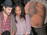 Tat's true love for you! Besotted Marco Perego has image of stunning wife Zoe Saldana's inked on his arm