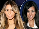 Just what has Kim Kardashian done to her face? New mom looks frozen in time on night out in racy black dress