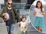 Suri, is that you? Sarah Michelle Gellar's daughter Charlotte is a doppelganger for Tom Cruise and Katie Holme's little girl