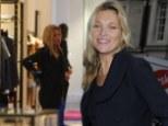 Kate Moss shopping