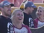 Britney Spears and boyfriend Dave Lucado are still going strong