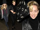 New favourite place? Miley Cyrus is in high spirits as she returns to special Amsterdam coffee shop, this time bringing along model Cara Delevingne