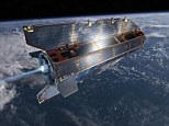 Incoming: Europe's 2,000-pound Gravity field and steady-state Ocean Circulation Explorer, or GOCE, is expected to plummet down to earth Monday - and no knows for sure where exactly its debris is going to touch down