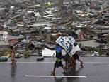 10,000 people have been killed in super typhoon Haiyan that hit the central Philippines on Friday, according to a police chief in the area