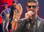 Robin Thicke at MTV EMAs