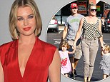 Rebecca Romijn says she and husband Jerry O'Connell are plenty happy with just two children