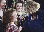 An Irreplaceable moment! Beyonce makes young blind fan Sophie Kotkis' night with a tear-jerking dedication and duet