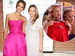 Never Been Kissed co-stars Jessica Alba and Drew Barrymore reunite at star-studded Baby2Baby Gala