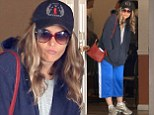 Brooke Mueller steps out solo in baggy clothing as her twins 'head back to Denise Richards' home temporarily'
