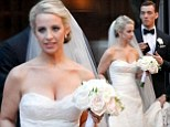 Handsome Percy Jackson star Jake Abel ties the knot with his fashion blogger fiancée Allie Wood in New Orleans