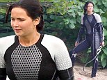 Jennifer Lawrence discusses the issue of 'camel toe' whilst filming the Hunger Games in a VERY tight wetsuit