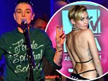 Still polar opposites: Sinead O'Connor covers up for New York concert while Miley Cyrus strips off at MTV EMAs in Amsterdam