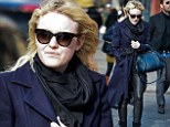 Dakota Fanning out and about, New York