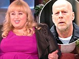 'I wanted to be really cool': Rebel Wilson admits she winked at Bruce Willis while at Disneyland... after she got busted for stuffing desserts in her purse