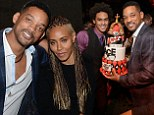 Will Smith and Jada Pinkett Smith put on affectionate display at his son Trey's 21st birthday despite reports of marriage rift