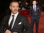 Damian Lewis showcased his blossoming moustache at the premiere of Romeo & Juliet during the 8th Rome Film Festival in aid of the Movember cause