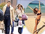 From beach to Big Apple: Gisele Bundchen still looks hot as she sweaters up with Tom Brady in NYC after tropical vacation