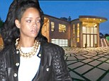 Rihanna rents out her $12m LA mansion for $65k a month after relentless schedule left singer with no time to move in