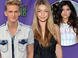 He likes reality stars! Kylie Jenner's ex Cody Simpson is now dating Real Housewives Of Beverly Hills beauty Gigi Hadid