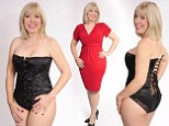 Caroline Jones says wearing a corset has enabled her to lose two stone in nine months