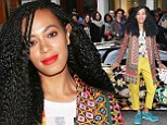 Solange Knowles grabs attention at launch of Saint Heron compilation album with a little help from a jazzed up Lamborghini