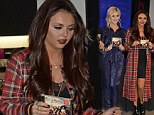 Feeling sleepy? Jesy Nelson and Perrie Edwards do bedroom chic in silk pyjamas and dressing gown at new album signing