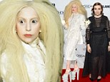 Halloween¿s over¿ but Lady Gaga and Lena Dunham miss the memo as they turn Glamour Awards into fright night in kooky outfits