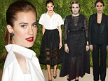 Glamorous Allison Williams breaks the Girls code by not passing on her fashion prowess to dowdy co-stars Lena Dunham and Zosia Mamet as they hit the town