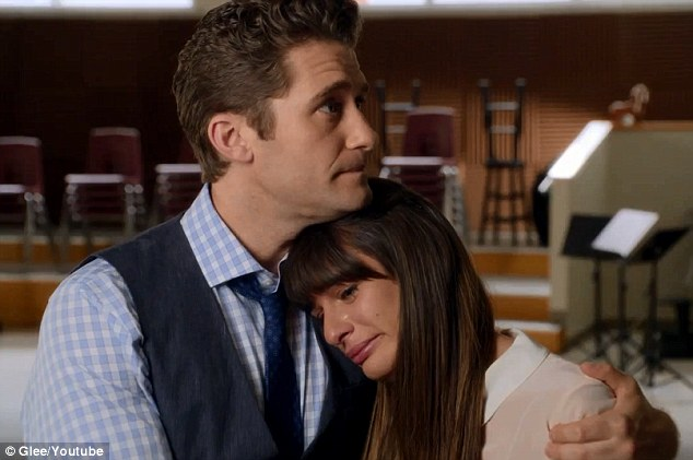Farewell Finn: Thursday's episode of Glee will pay tribute to the late Cory Monteith, with Lea's character, Rachel Berry, taking solace in glee club teacher Will Schuester, played by Matthew Morrison