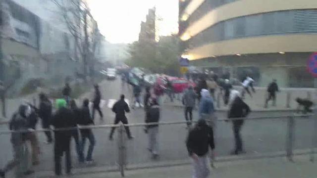 Bójki na obrzeżach Marszu Niepodległości
