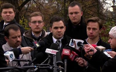 Organizatorzy marszu: Nie odpowiadamy za incydenty przed ambasadą Rosji