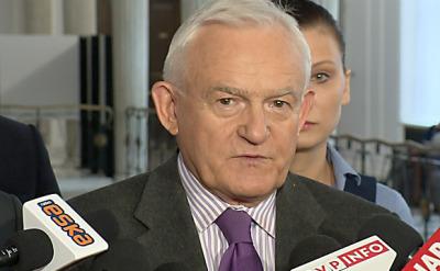 Miller o zajściach pod ambasadą Rosji: Niedołęstwo i nieprofesjonalizm rządu