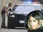 Kim Kardashian 'pulled over for speeding by police' on busy LA freeway... as the incident causes 'traffic chaos'