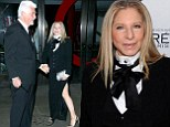 Barbra Streisand attedns the Glamour Women of the Year Awards in New York City with husband James Brolin