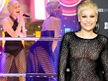 She likes it sheer: Jessie J shows off plenty of flesh in two transparent outfits at Oxford Street Christmas lighting ceremony