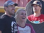 'He's a cool guy': Kevin Federline gives ex-wife Britney Spears' new man the tick of approval after meeting for the first time at sons' soccer match