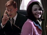 Record audience: Robe Lowe as President John F. Kennedy and Ginnifer Goodwin as his wife Jackie from a scene in Killing Kennedy on The National Geographic Channel