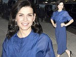 Call the ER! Julianna Marglies' hips are intoxicating as she makes a stunning entrance at the Late Show with David Letterman