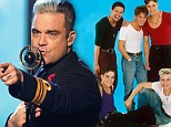 Robbie Williams speaks out about 'paying £1.5 million to leave Take That' in 1995... more than he'd earned at the time