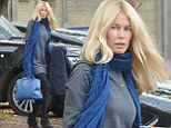 Claudia Schiffer looks as stunning as ever as she steps out make-up free in London