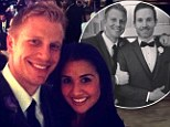 Picking up wedding tips? Sean Lowe and Catherine Giudici attend friend's nuptials just 75 days before they're set to marry