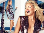Hot in heavy metal! Kate Hudson shines wearing a series of sexy metallic dresses as she reveals mother Goldie Hawn never spoiled her as a child