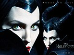 Green-eyed monster! Angelina Jolie is a menacing Maleficent as she dons horned headdress in new poster for her upcoming Disney movie