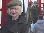 That was a quick change! Nicole Kidman look barely recognisable standing next to a telephone box on set of Paddington Bear