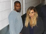 Popularity plunge: Kanye West's likeability has dropped by 66% since he started dating Kim Kardashian, new figures have revealed