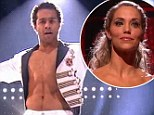 Corbin Bleu's Usher-themed jazz routine puts him on top while Elizabeth Berkley gets voted off Dancing with the Stars