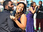 Lovebirds Jordin Sparks and Jason Derulo bring their undeniable chemistry to the stage as they perform a Christmas duet at Disneyland