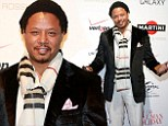Terrence Howard beats the winter chill in style at screening of new film The Best Man Holiday